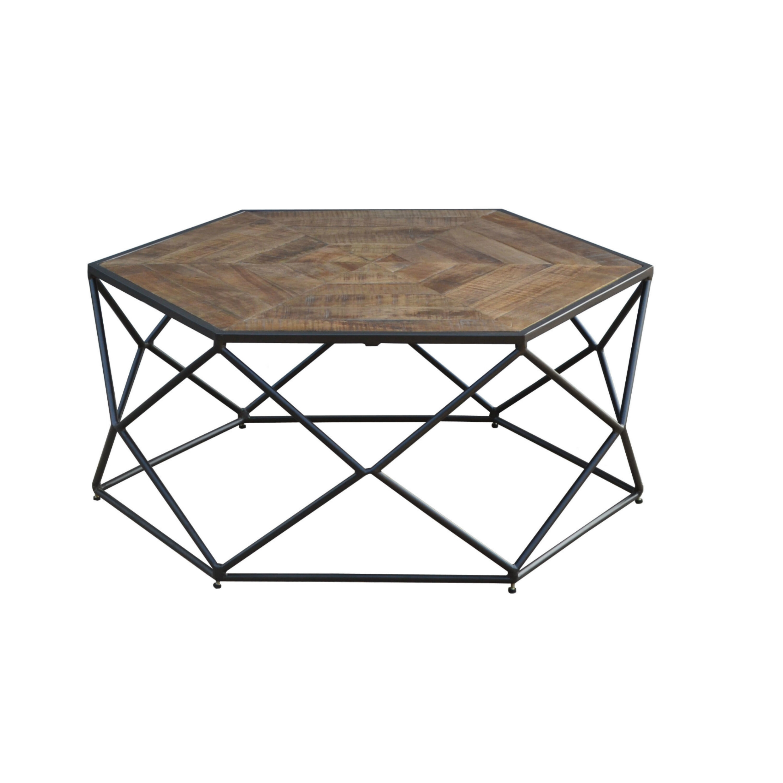 Ivy Bronx Caryl Hex Coffee Table Wayfair - Hex coffee table