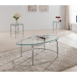 Patroclus 3 Piece Coffee Table Set