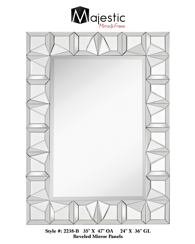 Majestic Mirror Panel Accent Mirror | Wayfair