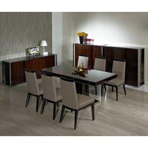 Camron Modern Pedestal Base Dining Table by Orren Ellis