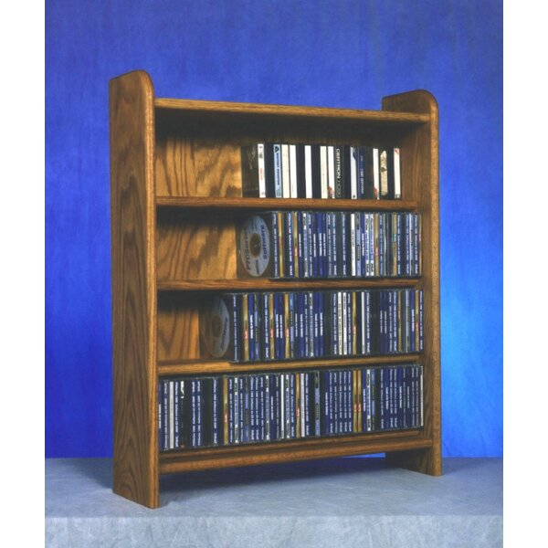 Beautiful Wood Shed 400 Series 220 CD Multimedia Storage Rack U0026 Reviews | Wayfair
