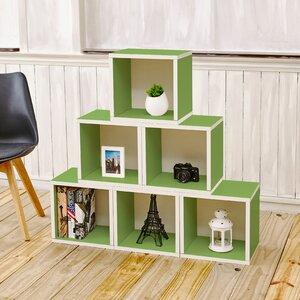 6-tlg. 65 cm Bücherregal Castleton Home von Castleton Home