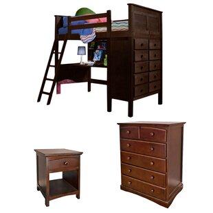 Bunk Bed Desk Dresser Combo Wayfair