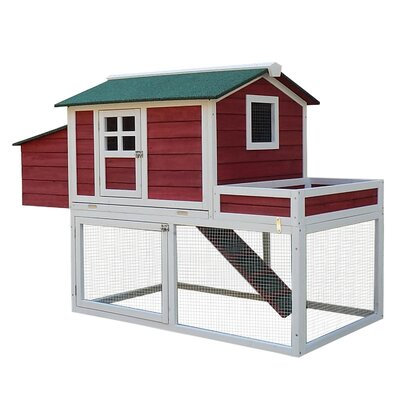 Hagerty Chicken Coop With Run Area And Nesting Box By Tucker Murphy Pet