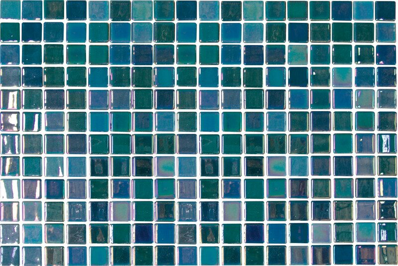 Daltile Uptown Gl 1 X Mosaic Tile In Pearl Blue Reviews