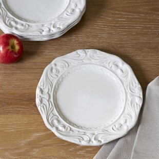 Trufant 9.5  Dessert Plates (Set of 4) & Decorative Dessert Plates | Wayfair