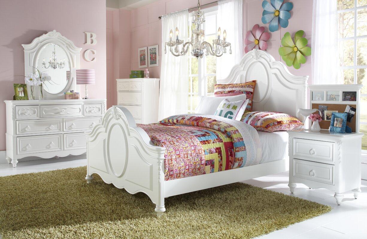 viv + rae jamari panel customizable bedroom set & reviews | wayfair