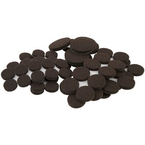 Wayfair Basics 80 Piece Self Stick Furniture Felt Pads