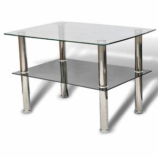 Judy Glass 2 Tier Coffee Table