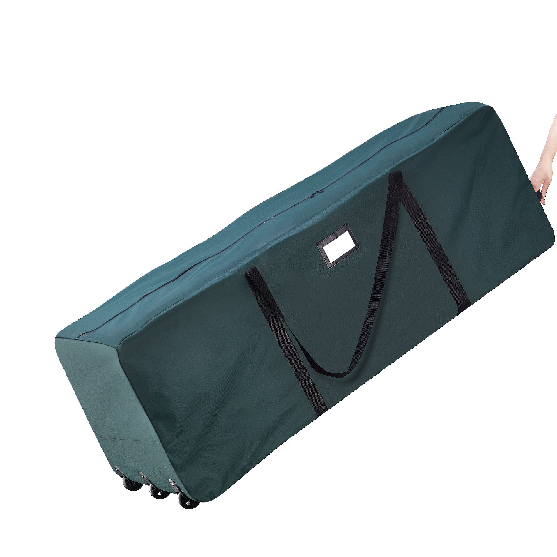 Elf Stor Premium Green Rolling Duffle Bag Christmas Tree Storage Bag U0026  Reviews | Wayfair