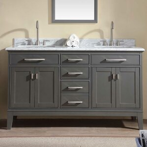 Bathroom Vanity Gray gray bathroom vanities you'll love | wayfair