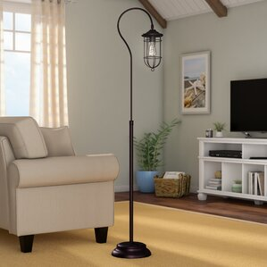 living room floor lamps. Samsula 62  Arched Floor Lamp Lamps You ll Love Wayfair