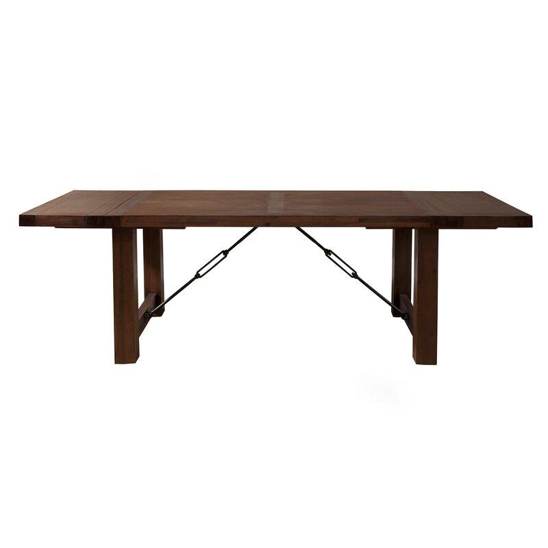 Loon Peak Piumafua Extendable Dining Table Amp Reviews Wayfair