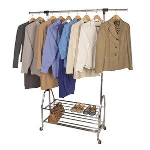 Commercial 2 Shelf Garment Rack