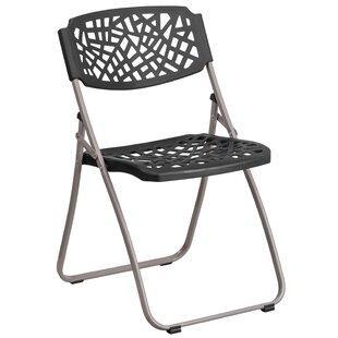 Laduke Metal Folding Chair