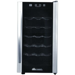 18 Bottle Single Zone Freestanding Wine Cooler by Avalon Bay