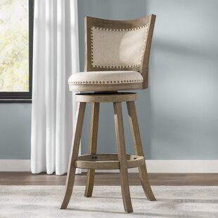 Three Posts Goldenberg 29 Quot Swivel Bar Stool Birch Lane