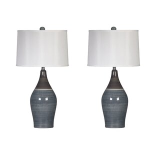 Table lamps youll love wayfair griggsville 28 table lamp set of 2 aloadofball Image collections
