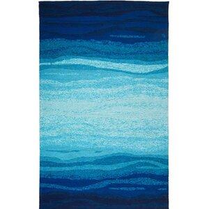 Vista Hand-Tufted Blue/Turquoise Indoor/Outdoor Area Rug