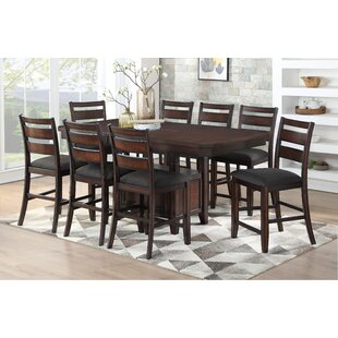 Campo 9 Piece Pub Table Set