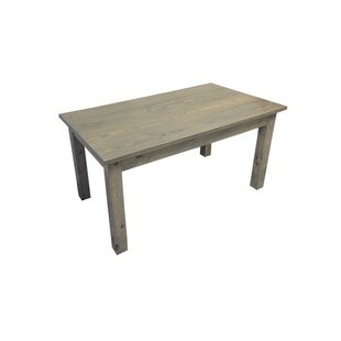 Graceville Rectangular Wood Solid Wood Dining Table