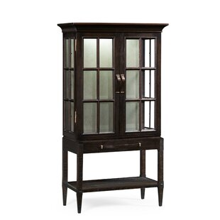 Glazed Lighted China Cabinet