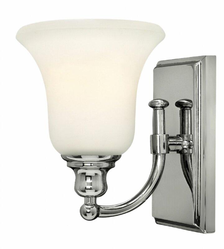 Hinkley lighting colette 1 light bath sconce reviews for Hinkley bathroom sconces