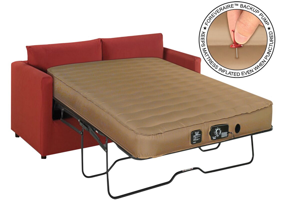 Sofa air mattress altimair aatqrfv1001 queen sofa air bed for Sofa bed air mattress reviews