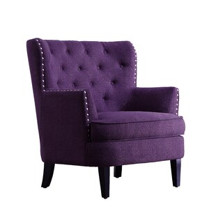 Inspiring Purple Accent Chairs Set