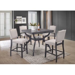 Wonderful Campton 5 Piece Counter Height Dining Set