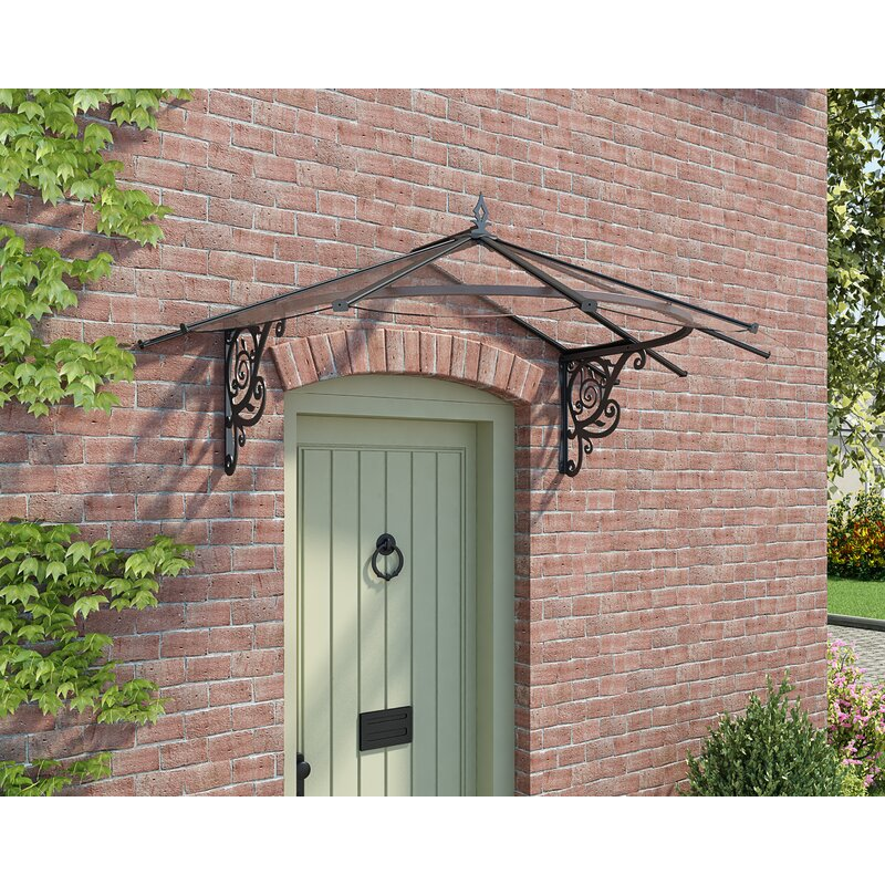 Lily Victorian 6ft  W x 4ft  D Door Awning