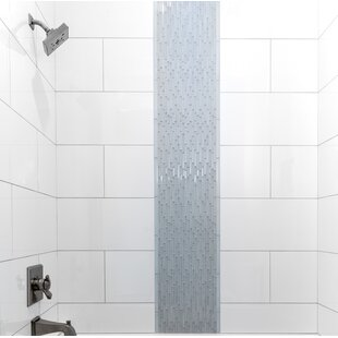 Style 12 X 6 Porcelain Cove Base Tile Trim In Pure White
