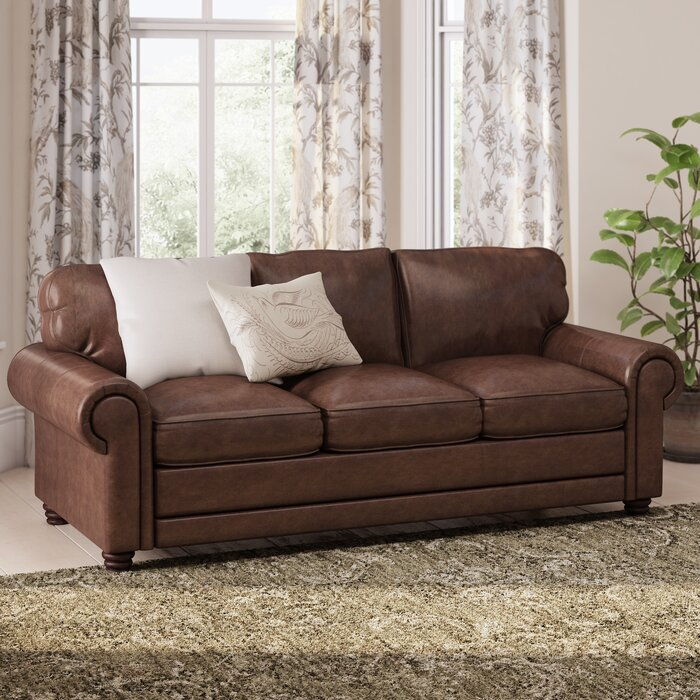 Lambdin Leather Sofa