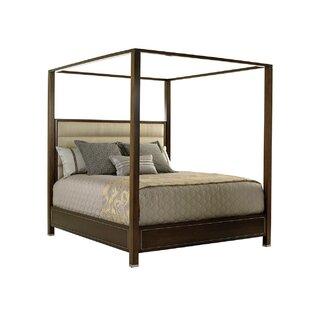 MacArthur Park Terranea Upholstered Canopy Bed  sc 1 st  Wayfair & Canopy Beds
