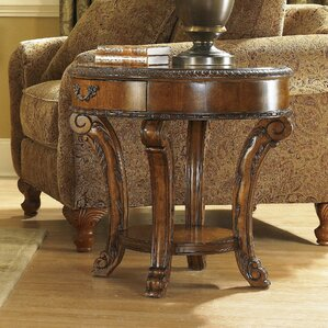 Brussels End Table With Storage by Astoria Grand