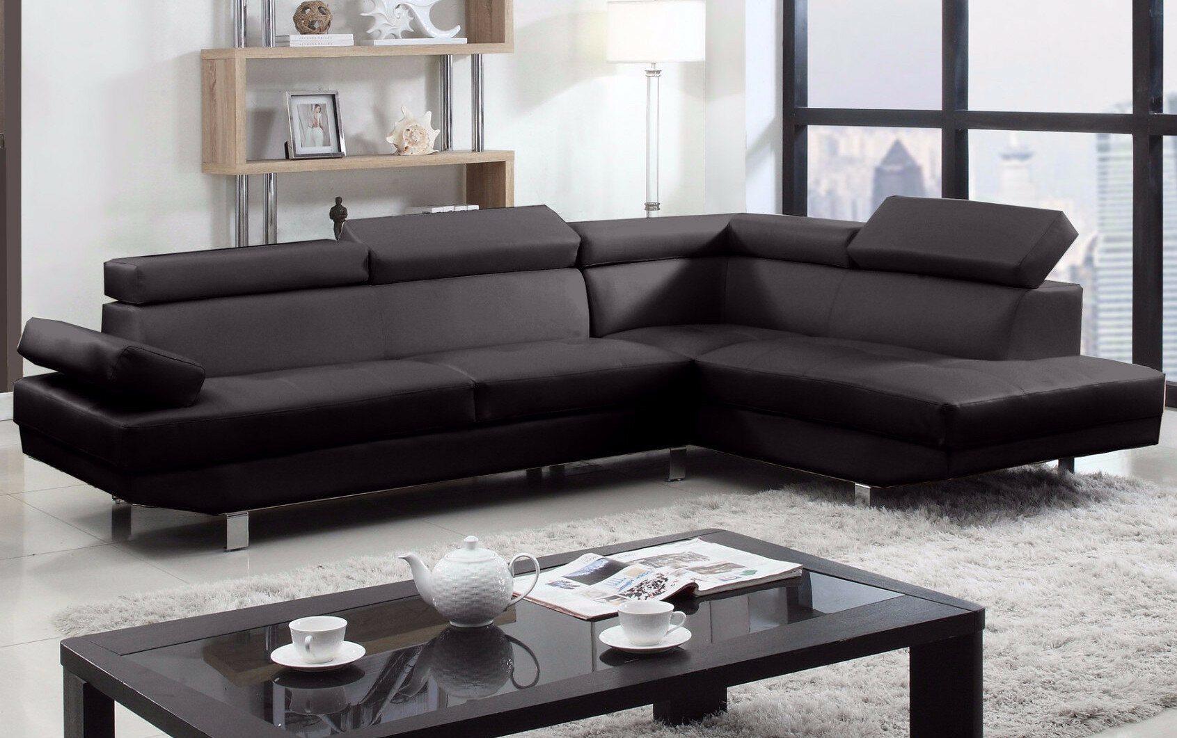 promo code 790d4 2cb6e Truluck Right Hand Facing Large Sectional