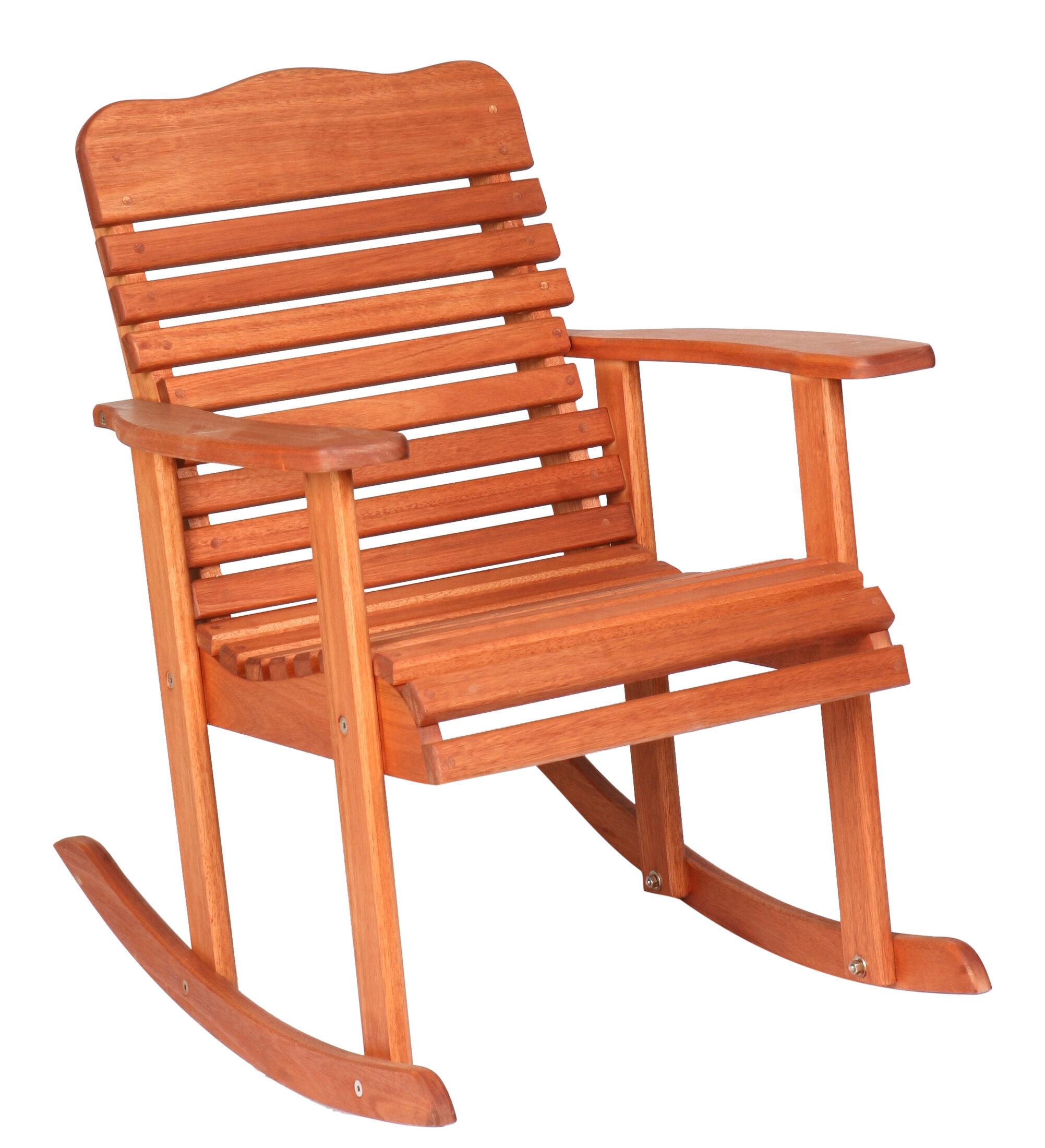 Terrific Red Grandis Style Rocking Chair Theyellowbook Wood Chair Design Ideas Theyellowbookinfo