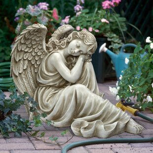 Harmony At Ease Angel Statue. By Design Toscano