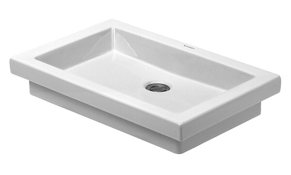 Duravit 2nd Floor Above Counter Vanity Basin Rectangular Vessel Bathroom Sink Reviews Wayfair