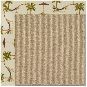 Zoe Light Brown Indoor/Outdoor Area Rug