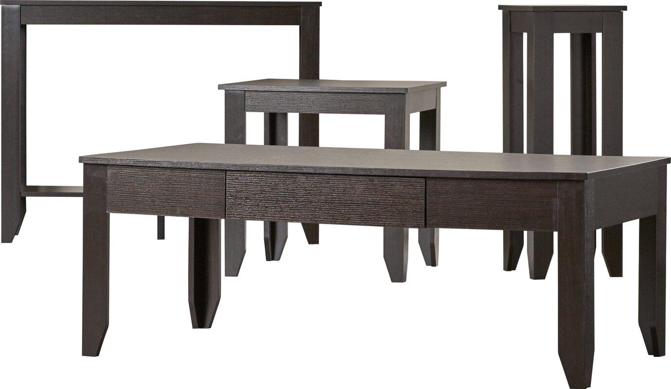 4 Piece Table Set Part - 37: Kiley 4 Piece Coffee Table Set