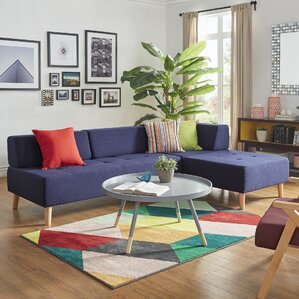 Alley Reversible Sectional Collection by Mercury Row