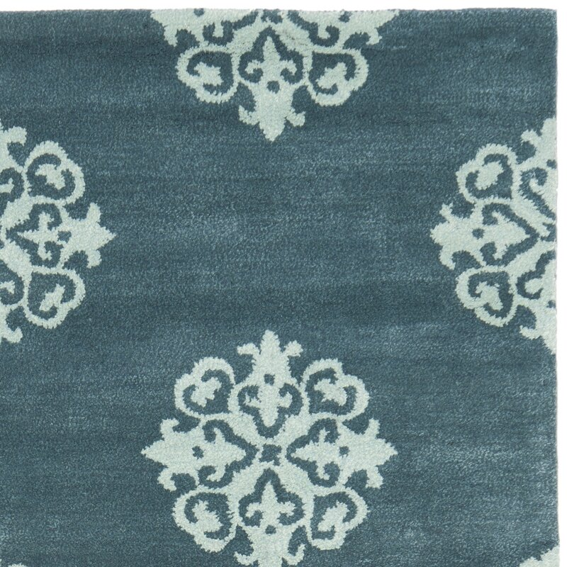 Safavieh Soho Slate Blue Light Blue Area Rug Amp Reviews