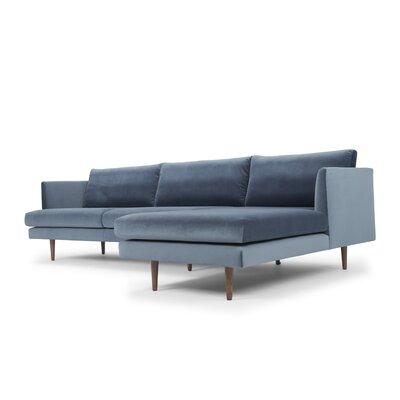 Modern Blue Velvet Sectionals Allmodern