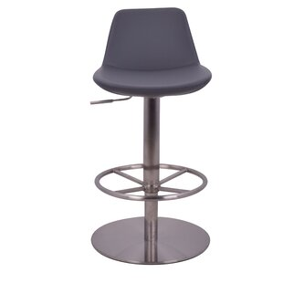 Elmdale Adjustable Height Swivel Bar Stool