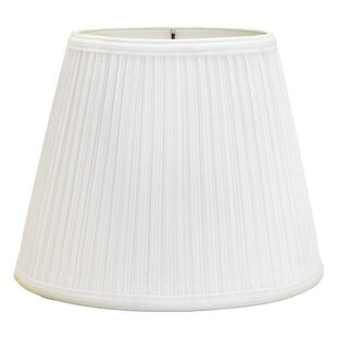 Mushroom Pleat 12 Linen Bell Lamp Shade
