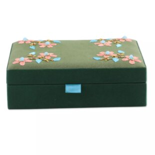 Fabric Jewelry Boxes Youll Love