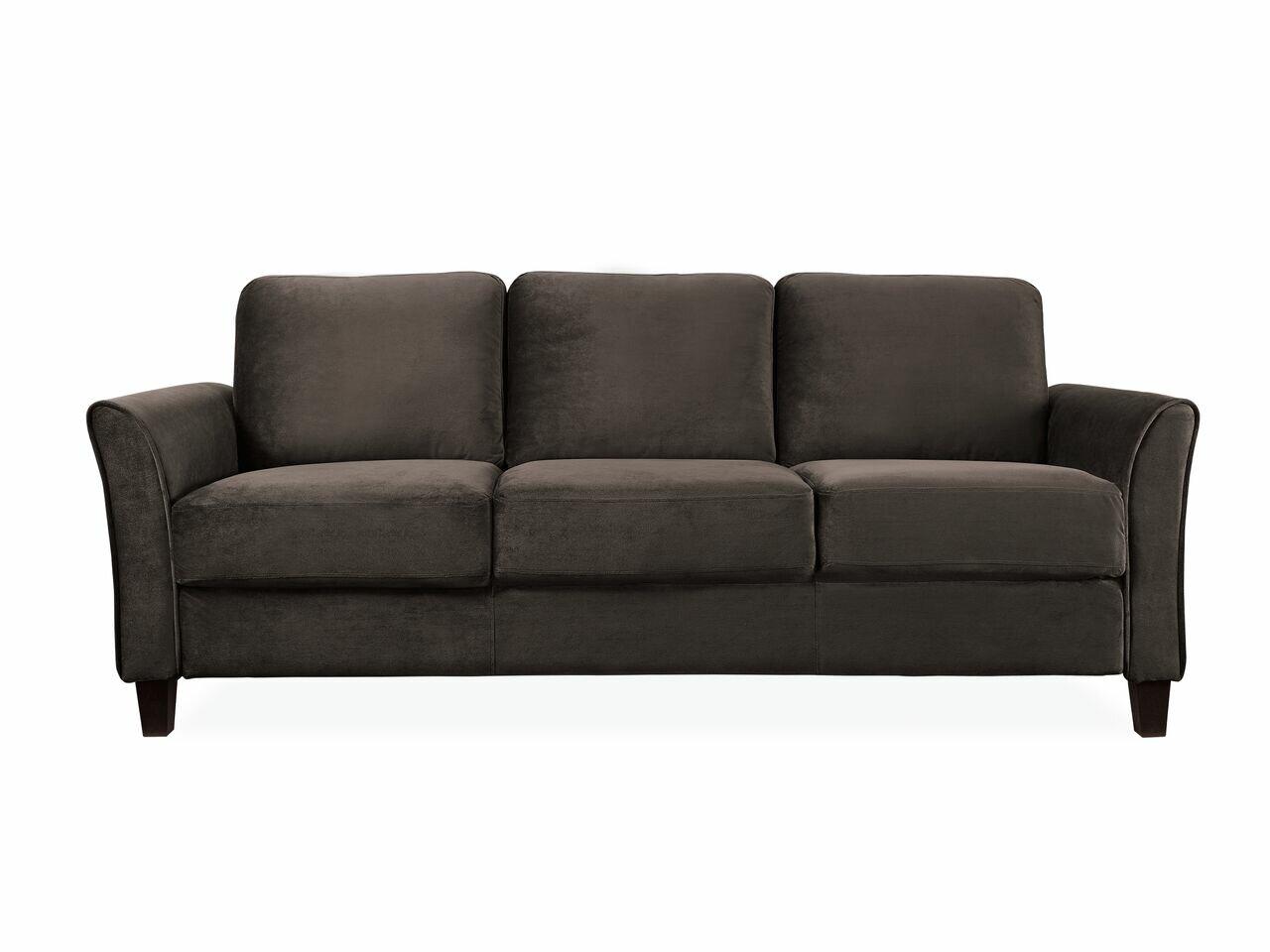 Charlton Home Patricia Curved Arm Sofa Amp Reviews Wayfair