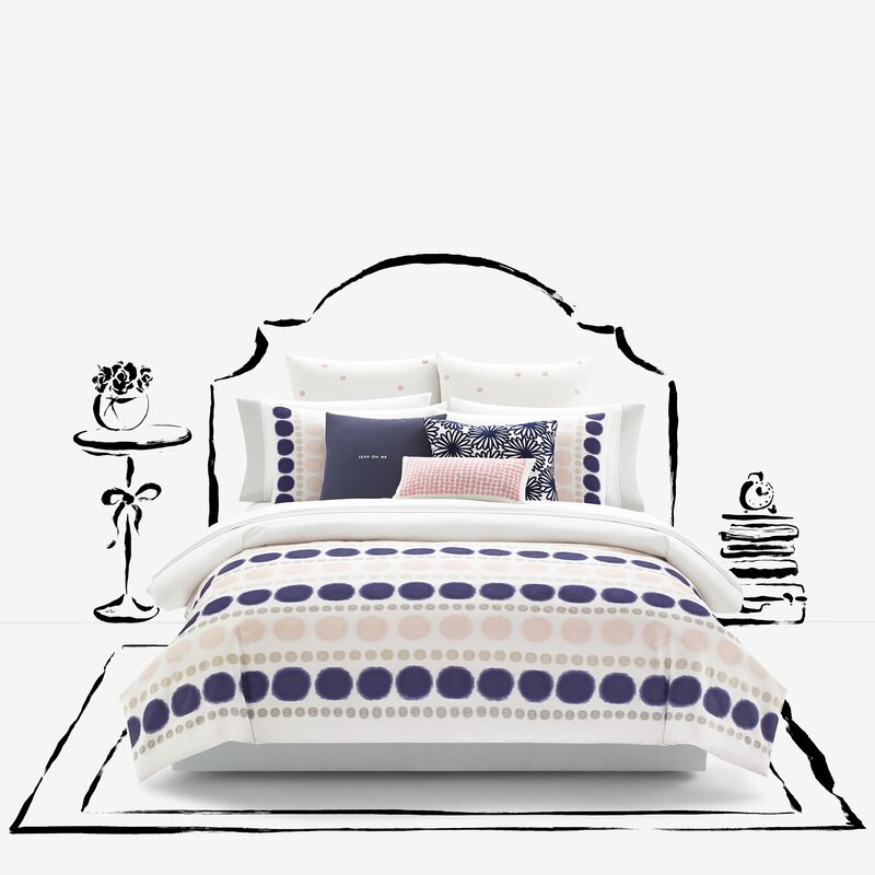 Ikat Dot Mini Duvet Cover Set
