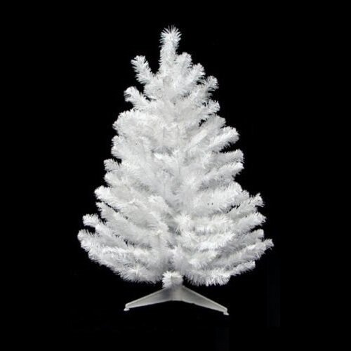 Pvc 2 White Artificial Christmas Tree
